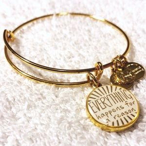 "Alex & Ani ""Everything Happens"" Bangle Bracelet"